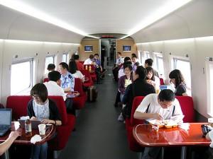G151次食堂車