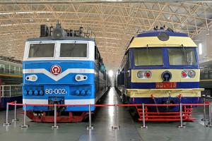 中国鉄道博物館東郊館・北京地下鉄8号線