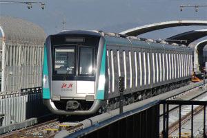 北京地下鉄8号線南北延伸区間(12/28)