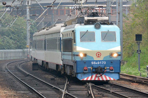 MTR東鐵線内のSS8観測(3/15)