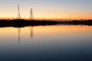 定点観測(2/18:通州北運河)