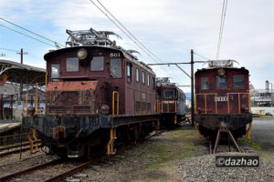 (11/17)岳南電車の機関車