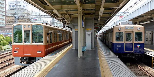 阪神尼崎駅(5/6)コンペ発表会への道