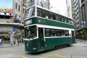 香港トラムのミレニアム車