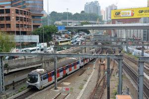 MTR東鐵線内のSS8観測(11/21-23)
