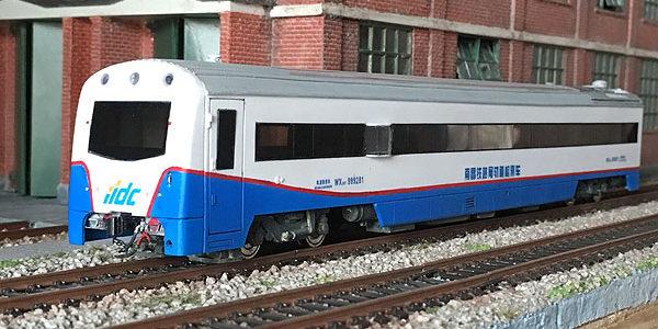 軌道検査車WX25T-999281