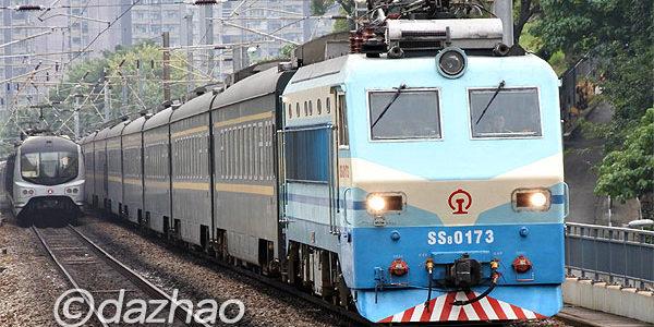 MTR東鐵線内のSS8観測(11/26)