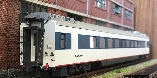 MTC・CA25T白塗装