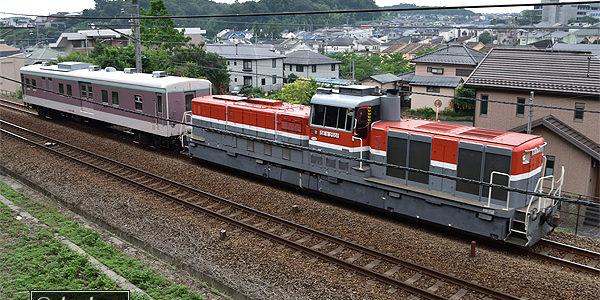 (7/3)9731Fサンリオとマニ50-2186甲種輸送