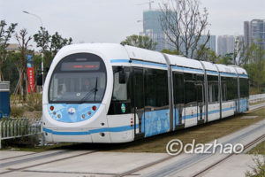 D923次(11/25:北京西-珠海)―珠海トラム