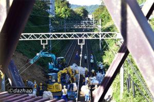 (10/13)台風19号による災害で高尾線と動物園線が不通